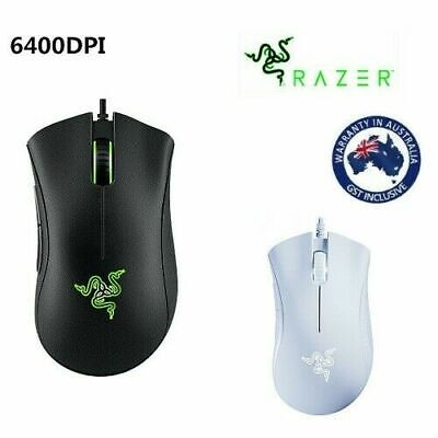 Razer DeathAdder Essential Gaming Mouse 6400DPI Wired Optical Mice for PC Laptop