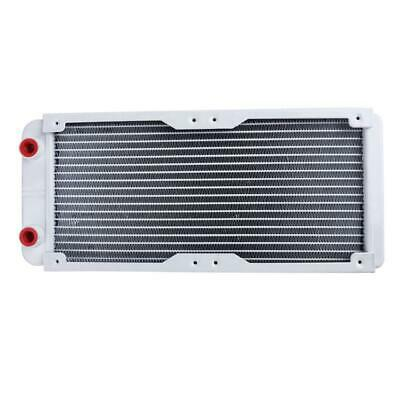 240mm 18 Tube Straight Thread Heat Radiator Exchanger for PC Water Cooling