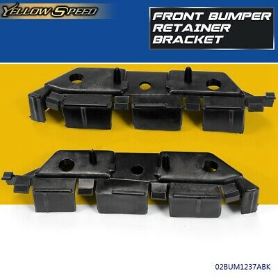 Front Bumper Retainer Bracket For 2013-2016 Ford Fusion Driver Passenger Side
