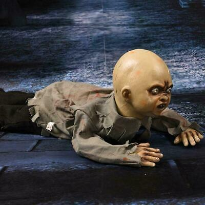 Halloween Crawling Ghost Zombie Baby Prop Horror House Party Hot Haunted U6M6