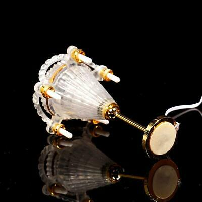 1:12 Doll House Mini Vintage Candle Light Ceiling Light Model Furniture A6T1