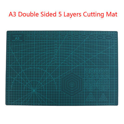 A3 Double Sided Cutting Mat Self-Healing Cut Pad Patchwork Tool Quilting Ruler'