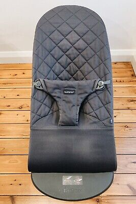 BabyBjorn Bouncer Bliss   Anthracite Cotton