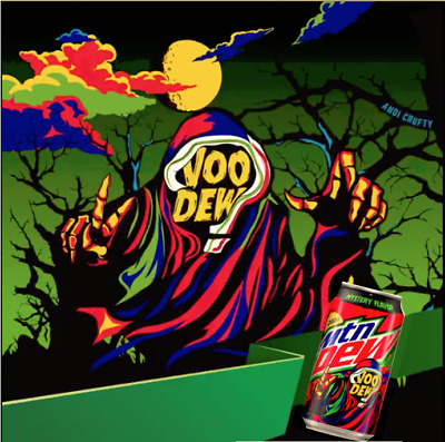 💀VooDew® Limited Edition Mountain Dew® Mystery🎃Halloween Flavor Single Serving