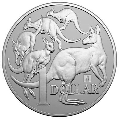 2019 Australia 1 oz Silver Kangaroo Willis Tower Privy $1 ANA SKU59227