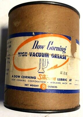 8 Ounce Bottle Dow Corning High Vacuum Grease
