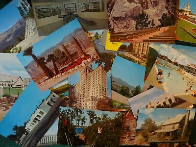 Lot Of 125 Chrome Postcards ~ All Usa , Unposted , All 3 X 5 Standard  , 🔑 *