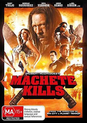 Machete Kills - DVD Region 2,4 Free Shipping!