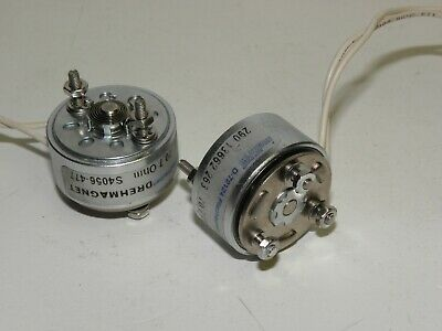 One set of indEAS Rotary Solenoids D-72124 24VDC laser shutter or selector
