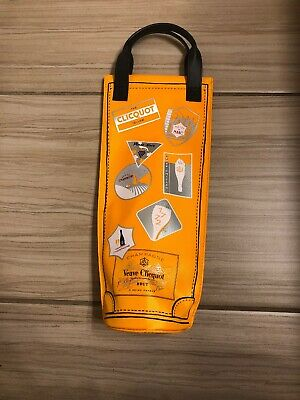Veuve Clicquot Orange Insulated Cooler Shopping bag Ice Sleeve