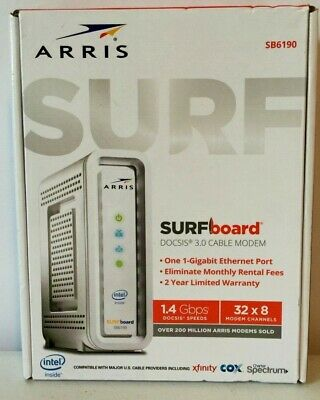 ARRIS - SURFBOARD DOCSIS 3 1 Cable Modem & Dual-Band Wi-Fi