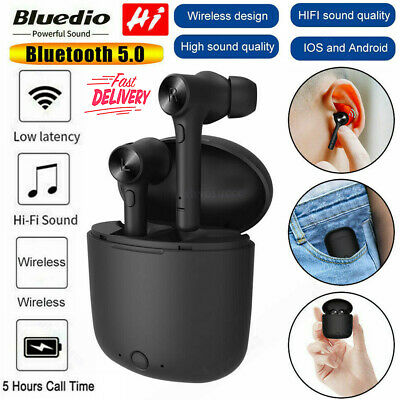 Bluedio Hi wireless bluetooth 5 earphone for phone stereo sport earbuds headset