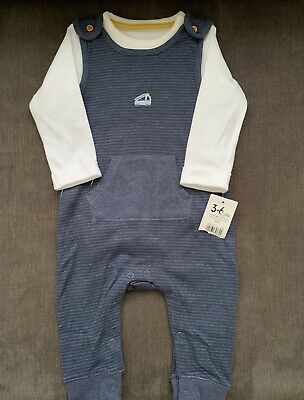 Mothercare Baby Boys Cord Dungaree /& Body Dungarees