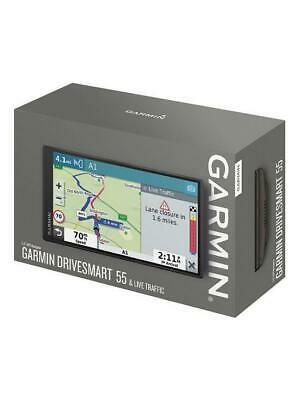 BRAND NEW GARMIN Drivesmart 55 & Live Traffic 3D 5 5