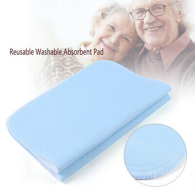 2x Reusable Washable Underpad Incontinence Bed Wetting Pads Sheet Protector #04