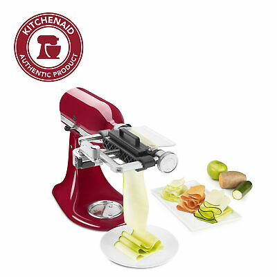KitchenAid Vegetable Sheet Cutter Attachment with Noodle Blade, KSM2SCA