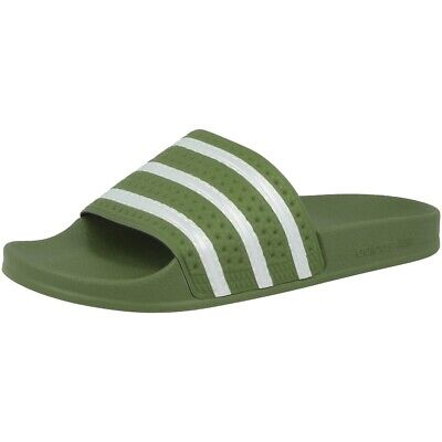 Adidas Adilette Beach Shoes Sandals Bath Slippers Slip on Shoes Olive EE6183