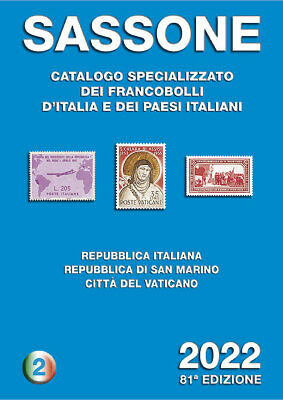 Catalogo filatelico Sassone 2020 - Volume 2