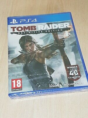Tomb Raider  Definitive Edition Playstation 4 Pal UK New Factory Sealed