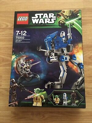 LEGO Star Wars 75002 AT-RT Set yoda & 501st clone trooper NEW And Sealed Retired