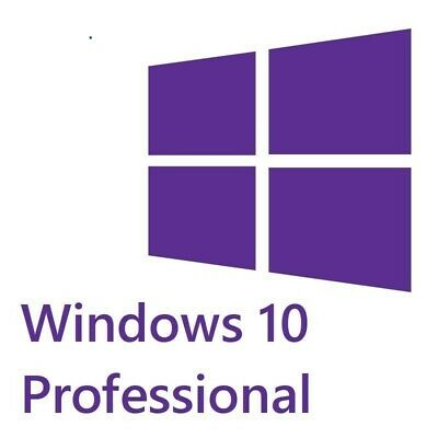 Windows 10 Pro Professionnel Licence Activation Key 32/64 bit No box cd