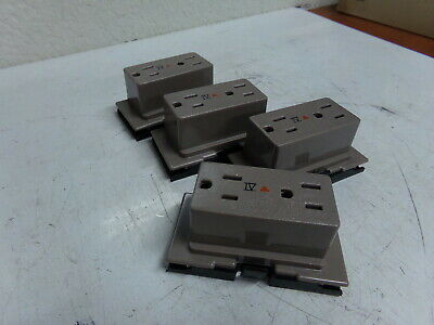 UL File Office Accessory Flexconnect Receptacle 874504E5 15A/125V (Lot of 4)