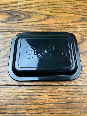 1 x Small OCB Rolling Tray Lid Cover BLACK 7 x 5, Same Day Free Express Shipping