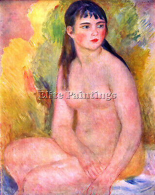 Nude Female By Renoir Artist Painting Reproduction Handmade Oil Canvas Repro
