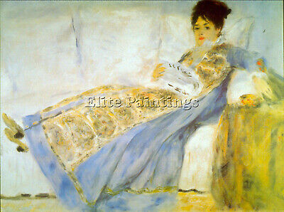 Le Figaro By Renoir Artist Painting Reproduction Handmade Oil Canvas Repro Deco
