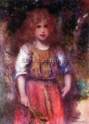 Gypsy Girl By Renoir Artist Painting Reproduction Handmade Oil Canvas Repro Deco