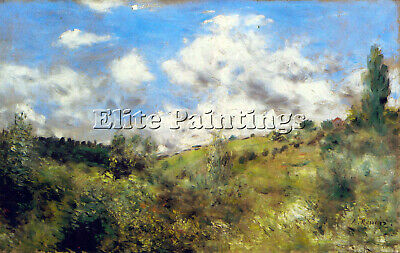 Landscape By Renoir Artist Painting Reproduction Handmade Oil Canvas Repro Deco