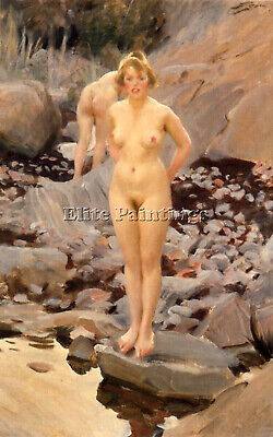 Zorn Helga Artist Painting Reproduction Handmade Oil Canvas Repro Wall Art Deco
