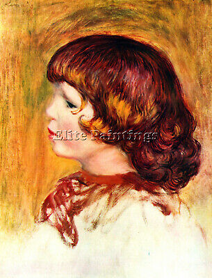 Coco By Renoir Artist Painting Reproduction Handmade Oil Canva Repro Art Deco