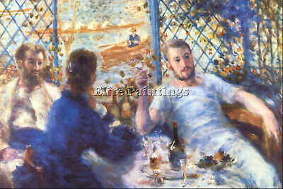 The Rowers Lunch By Renoir Artist Painting Handmade Oil Canvas Repro Art Deco