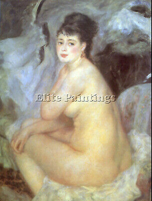 Female Nude By Renoir Artist Painting Reproduction Handmade Oil Canvas Repro