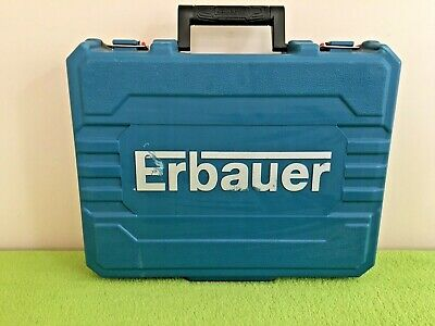 ERBAUER combi drill 18V LI-ION EXT BRUSHLESS CORDLESS DRILL case only EDD ECD