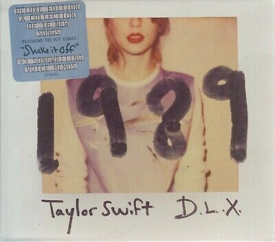 Taylor Swift D.L.X. CD 1989 DELUXE EDITION 602537998913 - SHIPS NOW