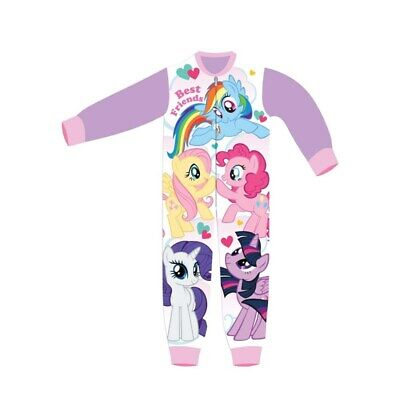 Girls My Little Pony All In One Piece Character Childrens Pyjamas Age 5-6