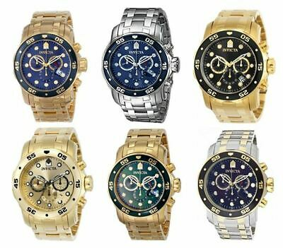 Invicta Men's Pro Diver Quartz 200m Chronograph Stainless Steel Watch