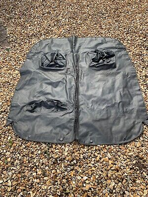 Triumph Spitfire MkIV  Or 1500 RHD Black Tonneau Cover With Headrest Sections