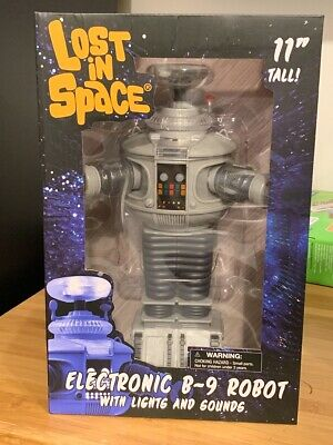 NEW Diamond Select Toys Lost in Space: Electronic Lights and Sounds B9 Robot