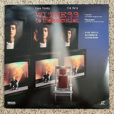Witness To The Execution Laserdisc
