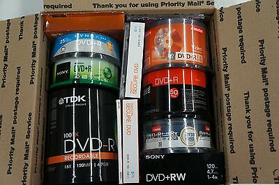 Large Media Value Pack 300 DVDs and More