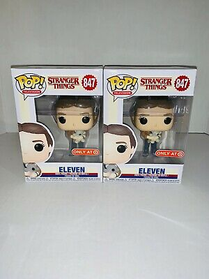 Funko Pop 847 Eleven with Bear Stranger Things El Target Exclusive IN HAND
