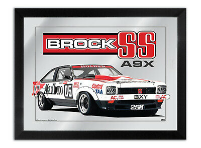 Bar Mirror Suit Holden Peter Brock A9X Ss Torana Lx Fan