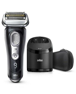 New Braun Series 9 Latest Generation Wet & Dry Electric Shaver With Clean&Char