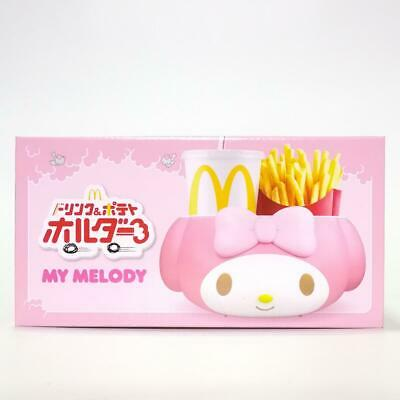 My Melody McDonalds Sanrio French Fry Drink Holder kawaii Japan Hello Kitty Toy