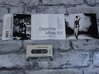 DEPECHE MODE - 101 (UK) / Cassette Album Tape/ 2351