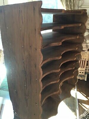 antique pine shelf unit
