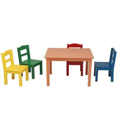Tremendous Fast Shipping Wood Crayon Table And Chair Set For Kid Room Ocoug Best Dining Table And Chair Ideas Images Ocougorg